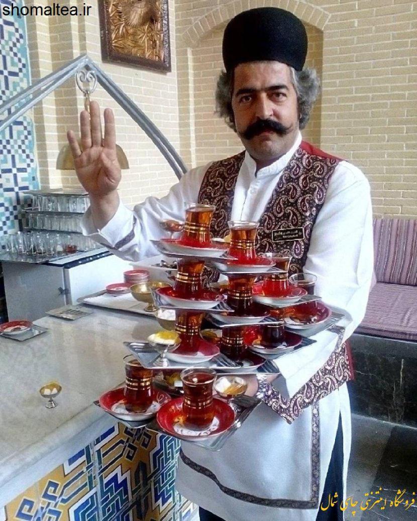 چایی خوشدم و خوشرنگ خالص ایرانی مخصوص سفره خانه ها، قهوه خانه ها، کافه و چایخانه های سنتی با عطر و طعم طبیعی مناسب دم کردن در قوری و کتری برای تهیه چای ذغالی و آتشی با بهترین کیفیت